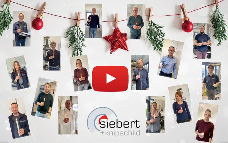 Collage Mitarbeiter und Mitarbeiterinnen der Siebert + Knipschild GmbH