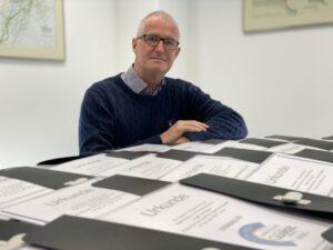 Verleiher von 37 Prüfsiegeln dieses Jahr: Andreas Haacker, Geschäftsführer Siebert + Knipschild